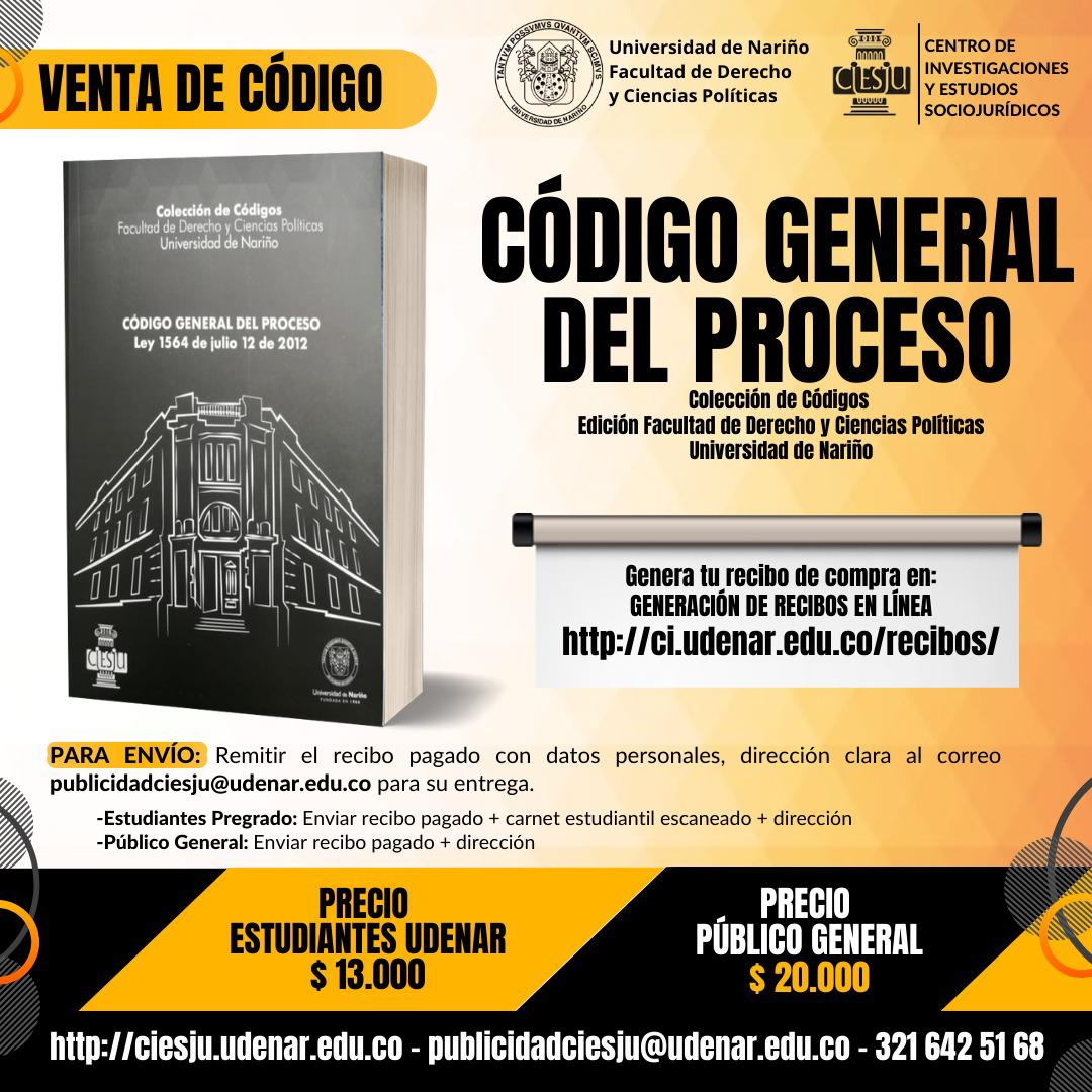 LIBRO: CÓDIGO GENERAL DEL PROCESO